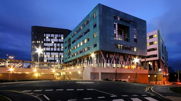 Leeds Teaching Hospitals Becket Wing.